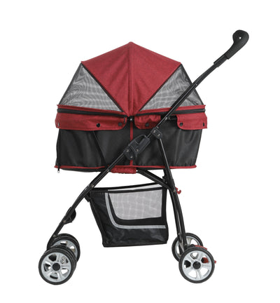 15% OFF: Petty Man 870i Pet Stroller Dog Pram (3 Colours)