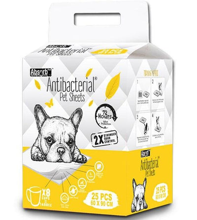 $14 ONLY: Absorb Plus Antibacterial Dog Pee Pad