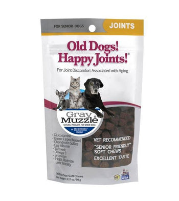 Ark Naturals Happy Joints Senior Friendly Soft Chew Supplements For Dogs