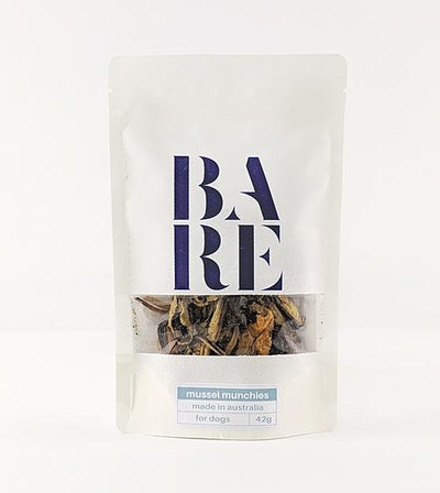 20% OFF: BARE Australian Premium Mussel Munchies Dog Treats