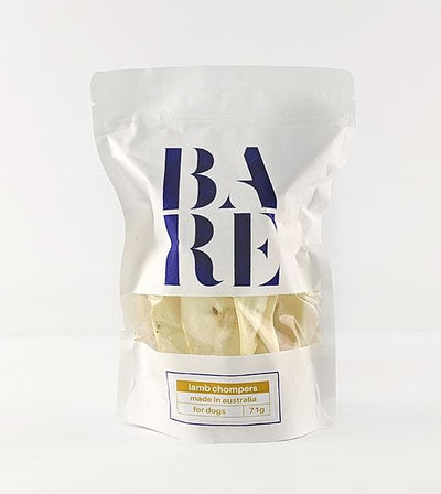 20% OFF: BARE Australian Premium Lamb Chompers Dog Treats