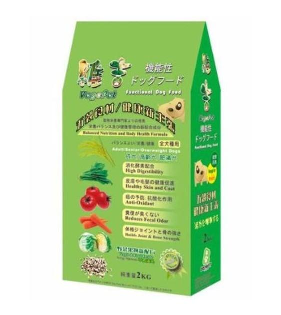 VegePet BBQ Flavour Adult Dog Food