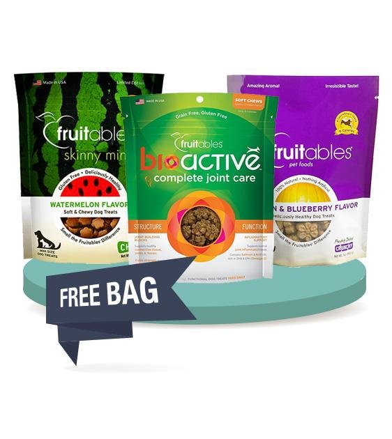 BUY 2 FREE 1 [SAVER BUNDLE]: Fruitables Natural Dog Treats