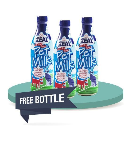 12 FOR $37 [SAVER BUNDLE]: Zeal Lactose Free Pet Milk