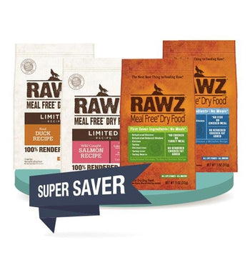 BUY 2 FREE 1 [SAVER BUNDLE]: Rawz Meal Free Dry Dog Food