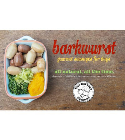 The Barkery Barkwurst Frozen Dog Food