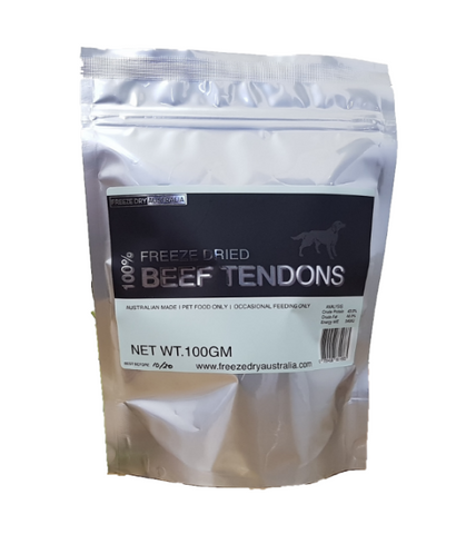 Freeze Dry Australia Beef Tendons Freeze Dried Dog Treats