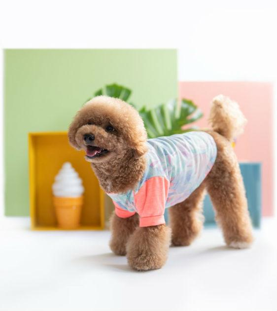 ohpopdog Oh! Aloha Boat Neck Jammies Dog Apparel