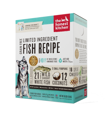 The Honest Kitchen Brave Fish Dehydrated Dog Food