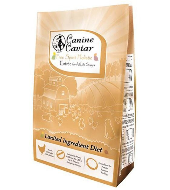 Canine Caviar Free Spirit Chicken & Pearl Millet Dry Dog Food