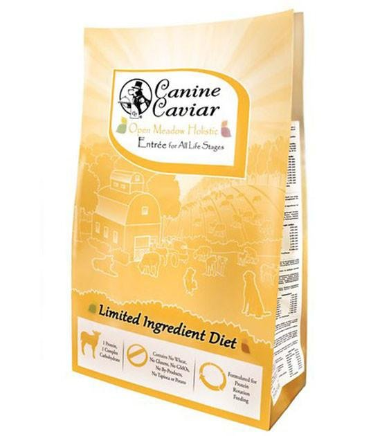 Canine Caviar Open Meadow Lamb & Pearl Millet Dry Dog Food