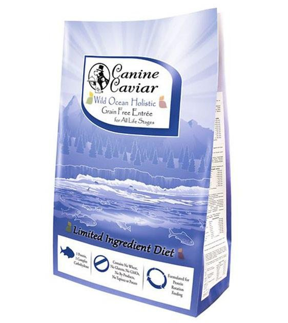 Canine Caviar Wild Ocean Herring & Split Pea Dry Dog Food
