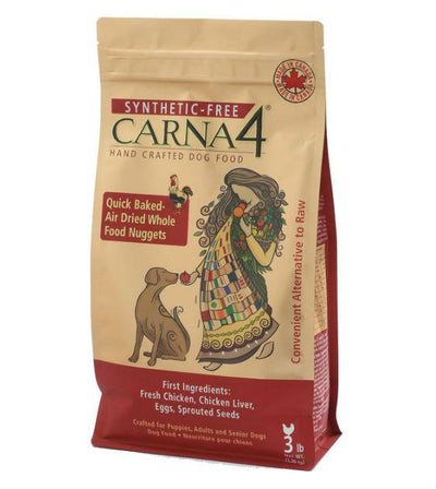15% OFF: Carna4 Quick Baked Air Dried Chicken Dry Dog Food