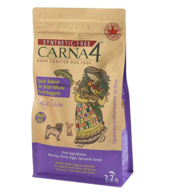 15% OFF + FREE SUPERFOOD: Carna4 Quick Baked Air Dried (Easy-Chew) Fish Dry Dog Food
