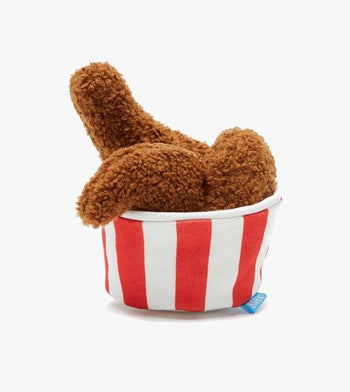 $18 ONLY: BarkShop Cooped Up Fried Chicken Dog Plush Toy