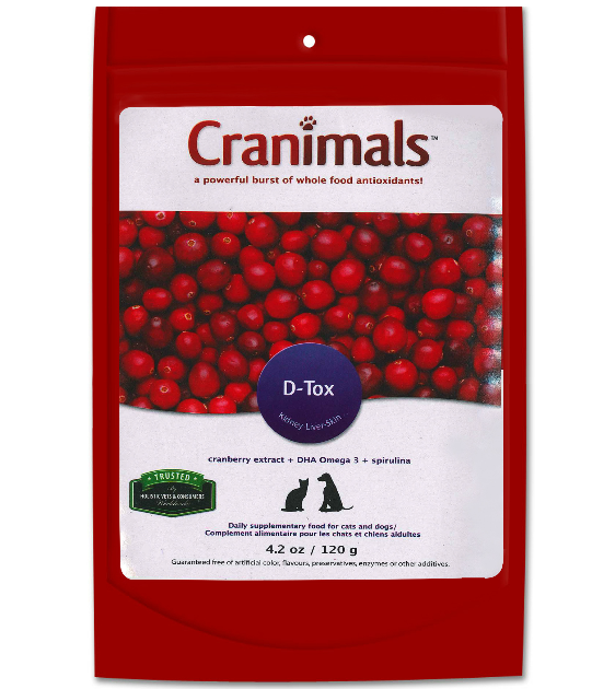 Cranimals DTOX Kidney, Liver and Skin Pet Supplements