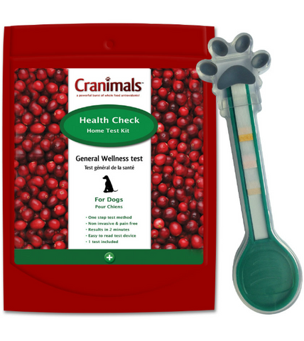 Cranimals Health Check General Wellness Home Test Kit for Dogs