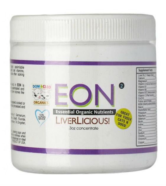 Dom & Cleo EON LiverLicious Dog Supplements