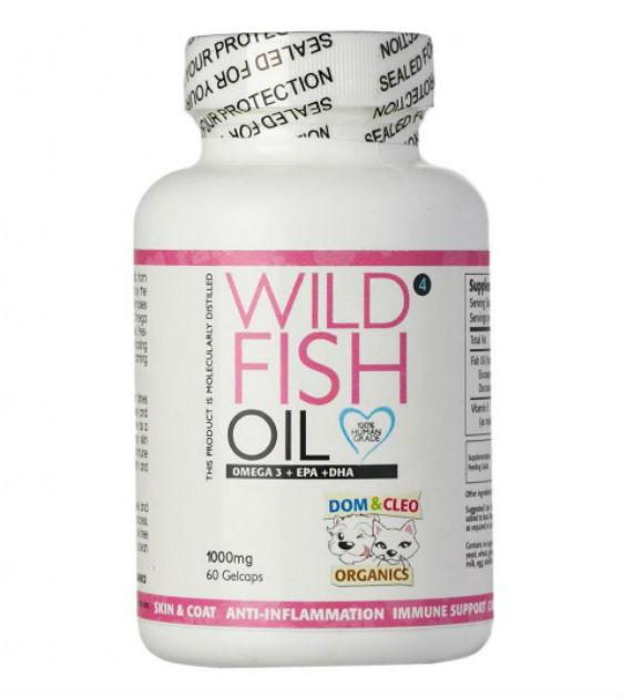 Dom & Cleo Wild Fish Oil Dog Supplements
