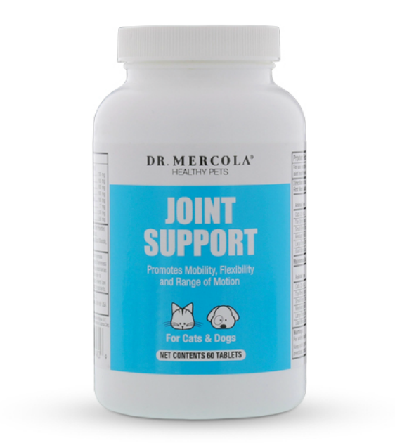 Dr. Mercola's Joint Support for Mobility, Flexibility and Range of Motion Pets Supplement