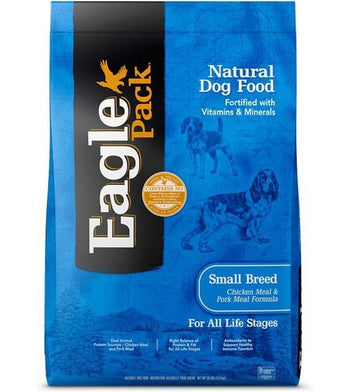 Eagle Pack Original Chicken Meal & Pork Meal Adult (Small Breed) Dry Dog Food