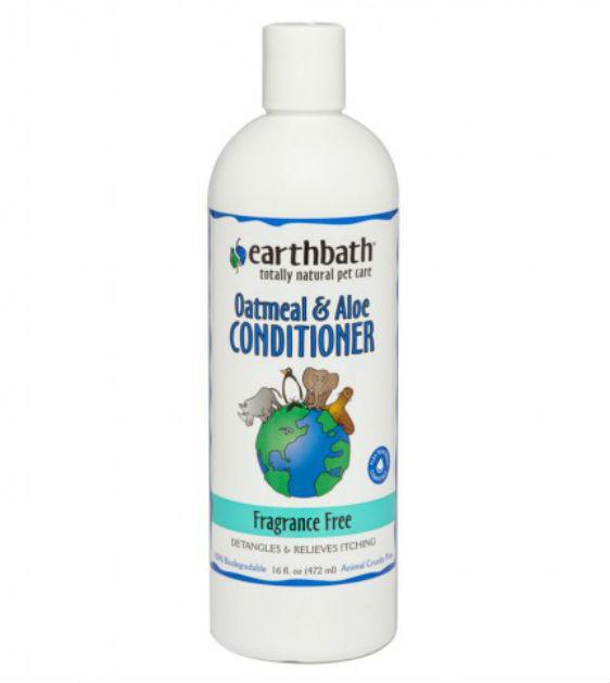 Earthbath Oatmeal & Aloe Fragrance Free Conditioner For Cats & Dogs