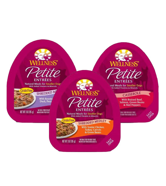 GIFT WITH PURCHASE >$99: Wellness Petite Entrees Wet Dog Food (Random Flavour x 1)