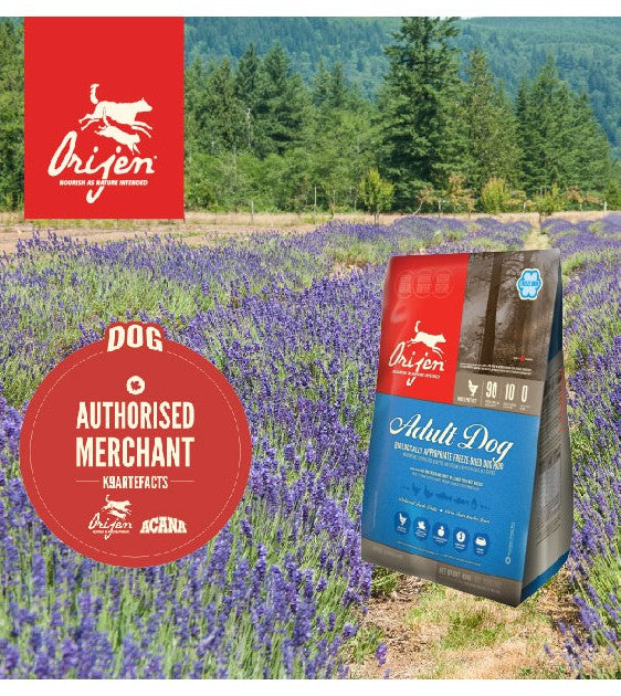 Orijen Adult Dog Chicken & Turkey & Herring & Flounder Freeze Dried Dog Food