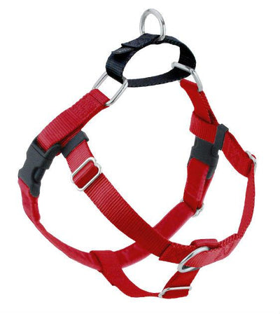 FREEDOM No-Pull Harness & Leash (Red/Black) For Dogs