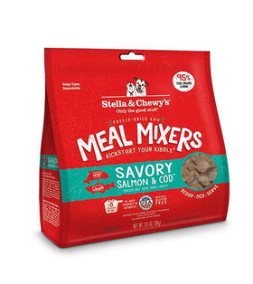 3 FOR $88 + FREE TREAT: Stella & Chewy's Meal Mixers (Savory Salmon & Cod) Dog Food Mixer