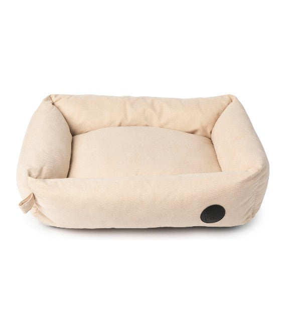 FuzzYard The Lounge (Almond Cream) Dog Bed