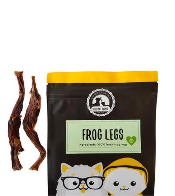 Feed My Paws Frog Legs Cat & Dog Treats