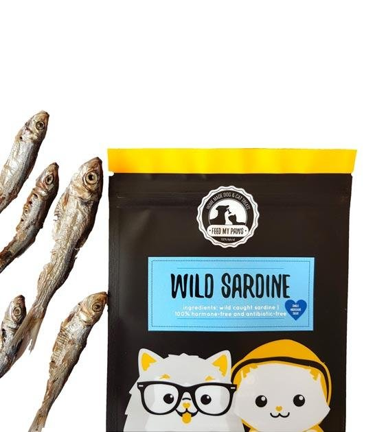 Feed My Paws Wild Sardines Cat & Dog Treats