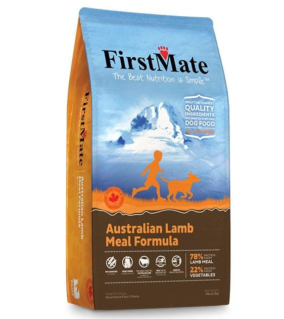 FirstMate Grain Free Australian Lamb Dry Dog Food (Standard / Small Bites)