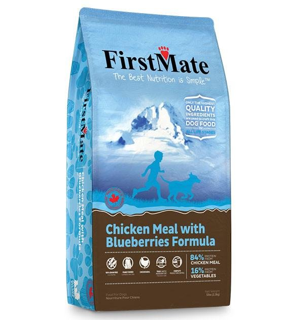 20% OFF: FirstMate Grain Free Chicken with Blueberries Dry Dog Food (Standard / Small Bites)