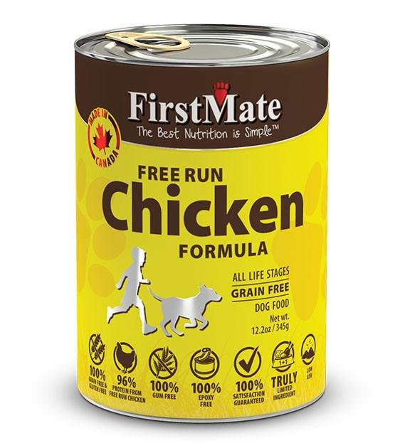 20% OFF: FirstMate Grain Free, Free Run Chicken Canned Dog Food