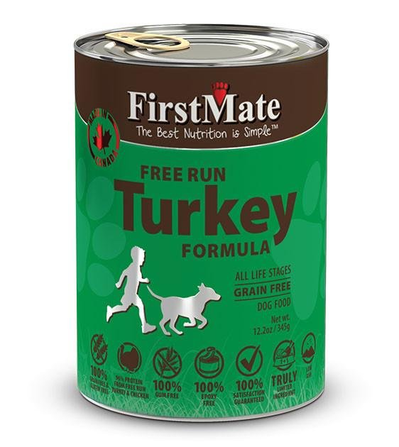 20% OFF: FirstMate Grain Free, Free Run Turkey Canned Dog Food