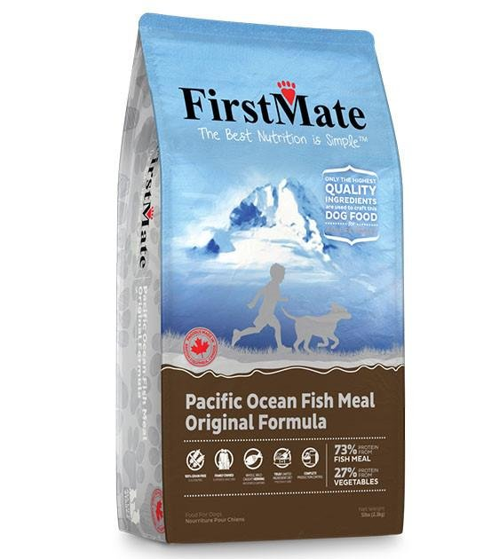 20% OFF: FirstMate Grain Free Pacific Ocean Fish Dry Dog Food (Standard / Small Bites)