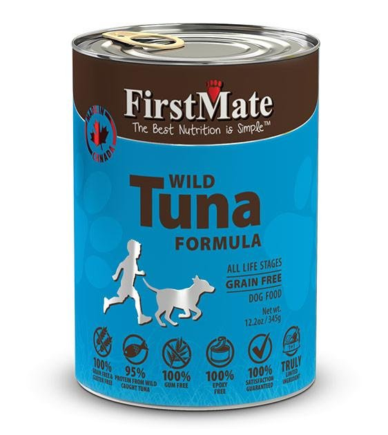 20% OFF: FirstMate Grain Free, Wild Tuna Canned Dog Food