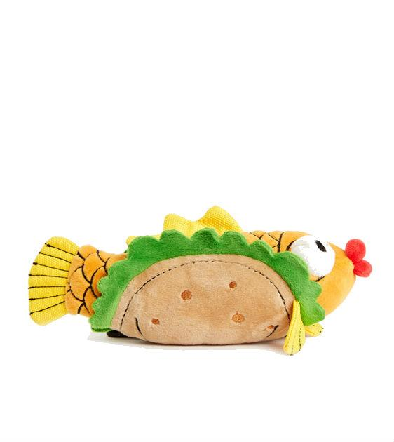 $18 ONLY: BarkShop Ernesto's Fish Taco Dog Plush Toy