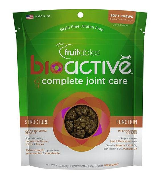 BUY 2 FREE 1: Fruitables BioActive Complete Joint Care Dog Treats