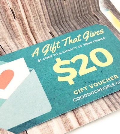 A Gift Card (That Gives)