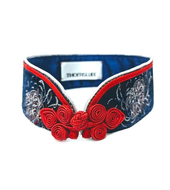 GDP x Thomas Wee Aoife Bespoke Oriental Dog Collar