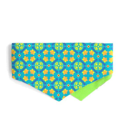 Good Dog People x Ohpopdog Pawranakan Dog Bandana (Teal)