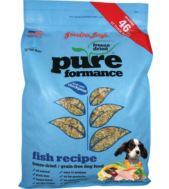 10% OFF: Grandma Lucy's PureFormance Freeze Dried Fish Recipe Dog Food