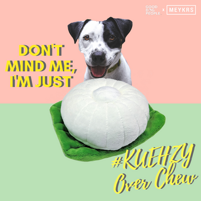 $10 NDP SPECIAL: GDP x Meykrs Kuehzy Tutu Kueh Dog Toy (Limited Edition)