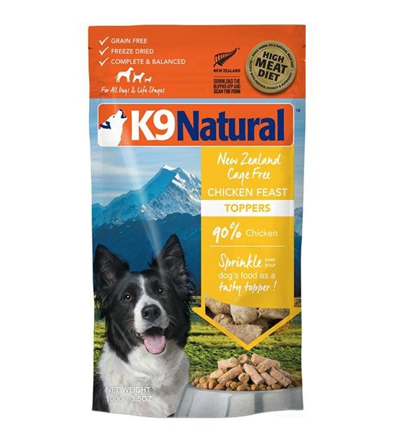 20% OFF: K9 Natural Freeze Dried Chicken Topper Dog Food