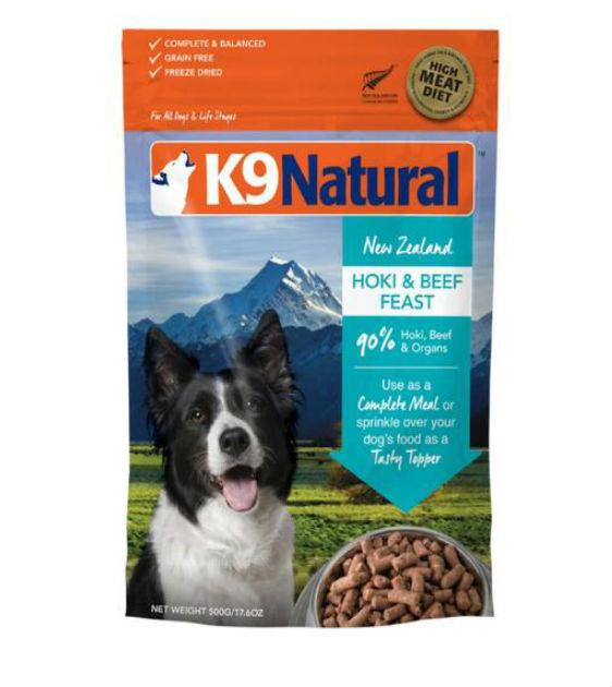 20% OFF: K9 Natural Freeze Dried Hoki And Beef Feast Dry Dog Food