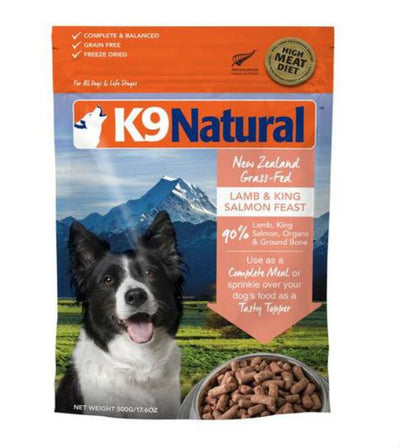 20% OFF: K9 Natural Freeze Dried Lamb & King Salmon Feast Dry Dog Food
