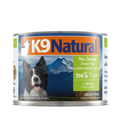 K9 Natural Lamb Green Tripe Canned Dog Food